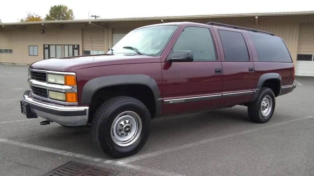 medium resolution of at 2 500 is this 1999 chevy suburban a bargain even when not considered by dollar per foot