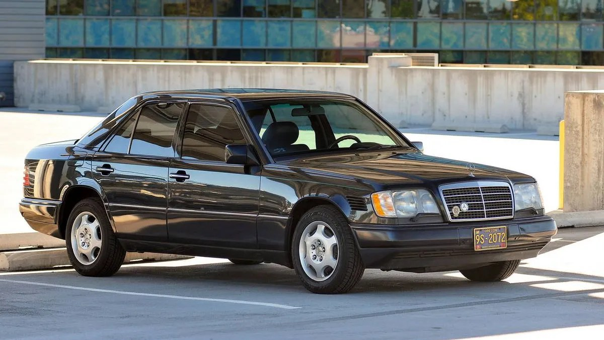 hight resolution of at 7 000 could this high mileage 1995 mercedes benz e300d still get you going