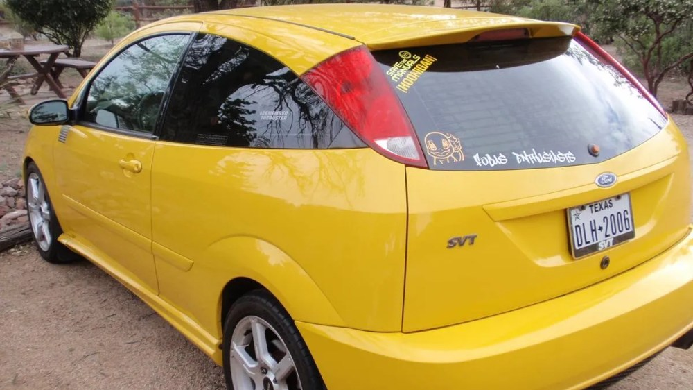 medium resolution of at 3 300 could this 2003 ford focus svt be a hot hatch that s a natch