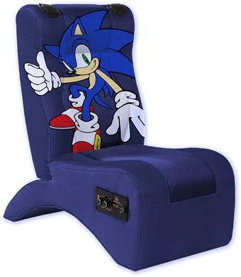kids gaming chairs zero gravity patio chair canada can sit on sonic for a full body sensory experience with the reactor mini from ultimate manufacturer is delivering its first kid sized speaker stuffed in time