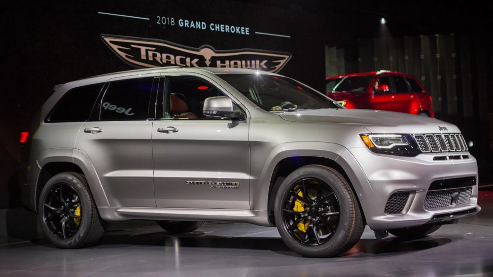 medium resolution of the hellcat powered 2018 jeep trackhawk is quicker 0 60 than the alfa giulia