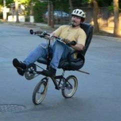 The Bike Chair Used Tables And Chairs Make Your Own Office Can T Get Enough Time Sitting In That Of Yours It Into A Instructables Has Simple Nine Step Solution For Turning Favorite