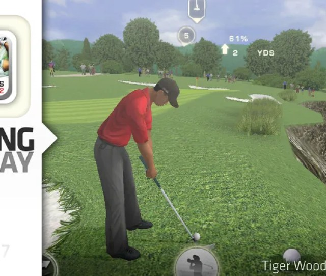 Golf With An Emphasis On Precision And Players Always Initiating Rather Than Reacting To The Action Is A Natural For The Mobile Platform