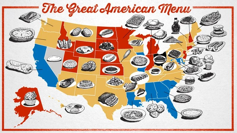 what are the united states best regional foodstuffs its worst these