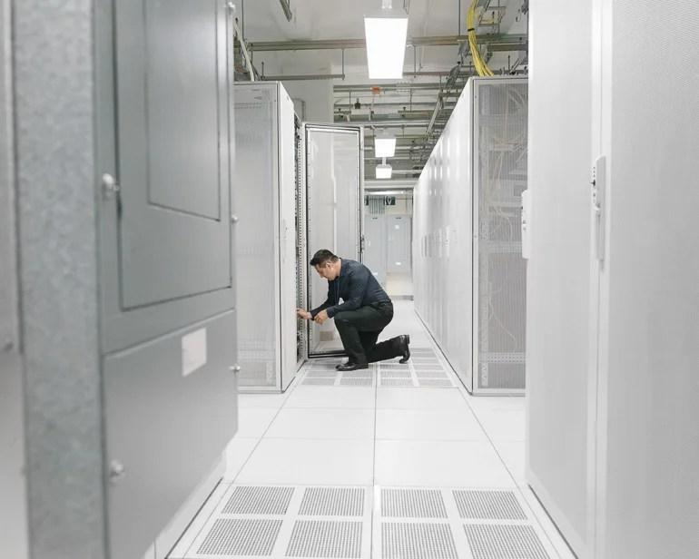 A Rare Look Inside NY's Secretive Data Centers