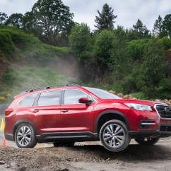 Suv With 3 Rows And Captains Chairs Swing Seat Jungle Gym The 2019 Subaru Ascent Is Three Row That Actually Feels Like A