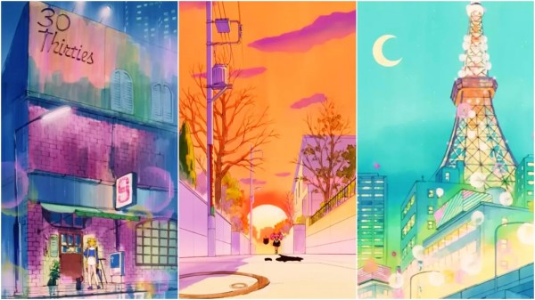 Sailor Moon Anime Backgrounds Beautiful
