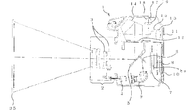 Nikon Patent Puts a Projector In a DSLR... Dangerously