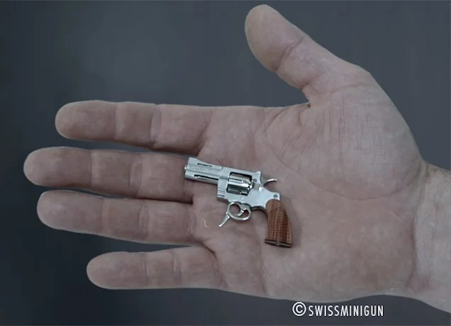 The Tiniest, Cutest Guns (That Shoot Real Bullets)