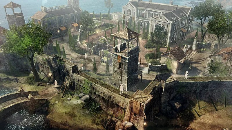Building The Buildings Of Assassins Creed