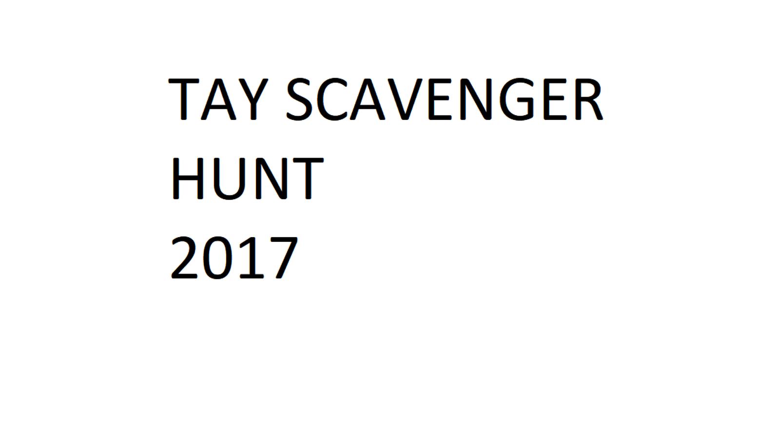 TAY Scavenger Hunt: The Wild Hunt