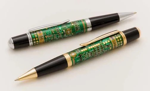 More Pics Of Circuit Board Pens