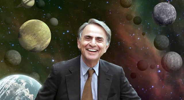 Here's Carl Sagan's original essay on the dangers of climate change