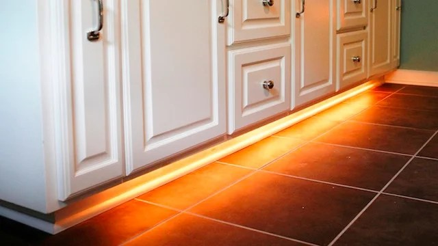 craigslist kitchen cabinets island plans add rope lighting under your bathroom and never ...