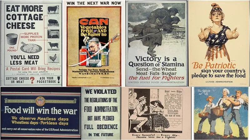 How WWI Food Propaganda Forever Changed The Way Americans Eat