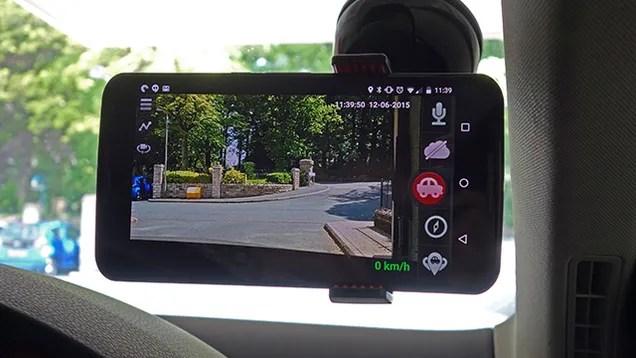 Cómo convertir tu teléfono en un Dash Cam