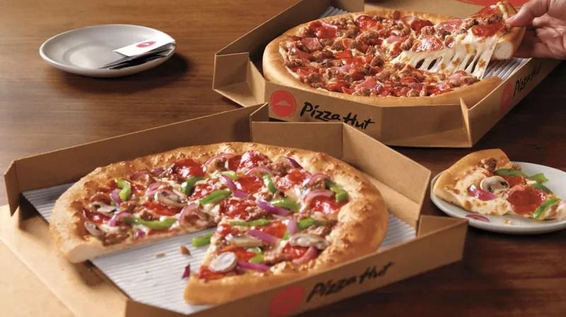 pizza hut launches 5