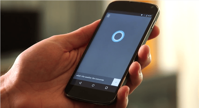 Microsoft's Cortana Is Coming to Android and iPhone
