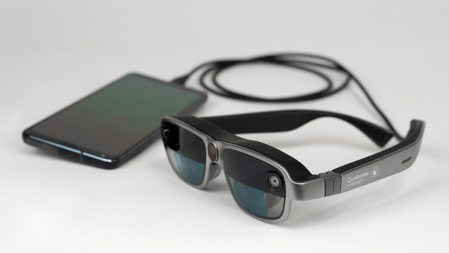 xfpoejg8trgmll6i04aa Qualcomm's New AR Headset Design Might Make Smart Glasses More of a Thing   Gizmodo