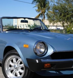 for 9 990 could this 1981 fiat 124 sport spider make you forget the new miata based one  [ 1600 x 900 Pixel ]