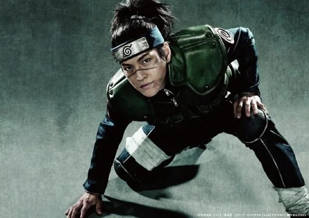 Naruto Live-Action Actors Look Dirty