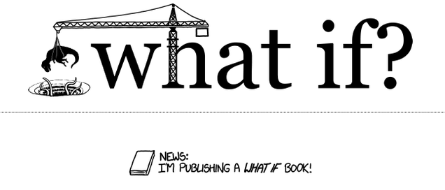 XKCD's Randall Munroe is publishing a book of science