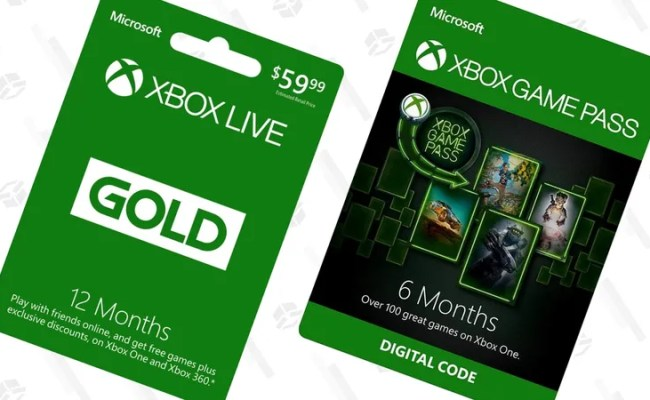 You Re Running Out Of Time To Save On Xbox Live Gold And