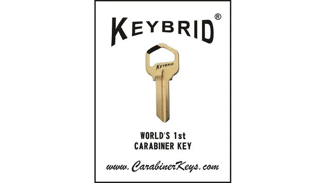 The Carabiner Key Attaches to You, the Outdoor Enthusiast