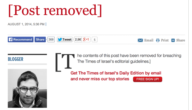 """Here Is an Israeli Paper Column Titled """"When Genocide Is Permissible"""""""