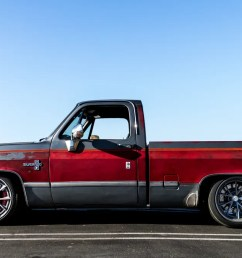 this 640 hp z06 swapped 1986 chevrolet c 10 pickup is an ideal shop truck [ 1200 x 675 Pixel ]