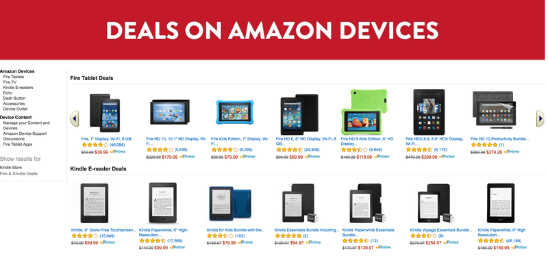 Sunday's Best Deals: $40 Fire Tablet, 4TB External, Discounted Sleepwear, and More