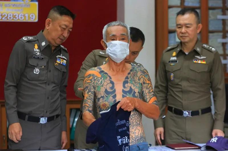 Detienen Al Jefe De Los Yakuza Después De Que Sus Tatuajes Se