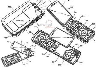 Samsung Patent for Gaming Phone Is Transformers-esque