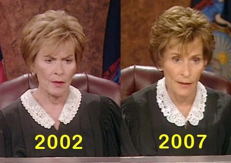 Judge Judy A Good Case For Tasteful Plastic Surgery