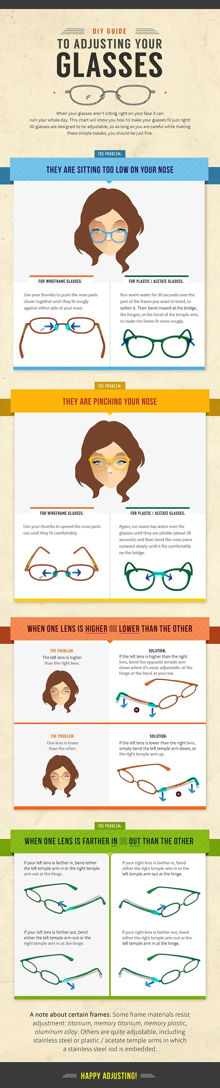 How To Bend Plastic Eyeglass Frames At Home | Framess.co