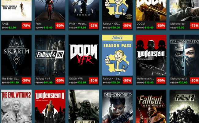 Take Your Pick Of Discounted Bethesda Games During This