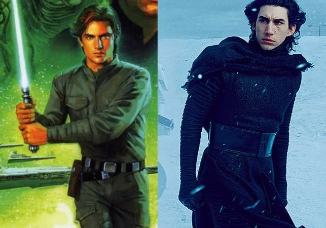 What The Force Awakens Borrowed From the Old Star Wars Expanded Universe