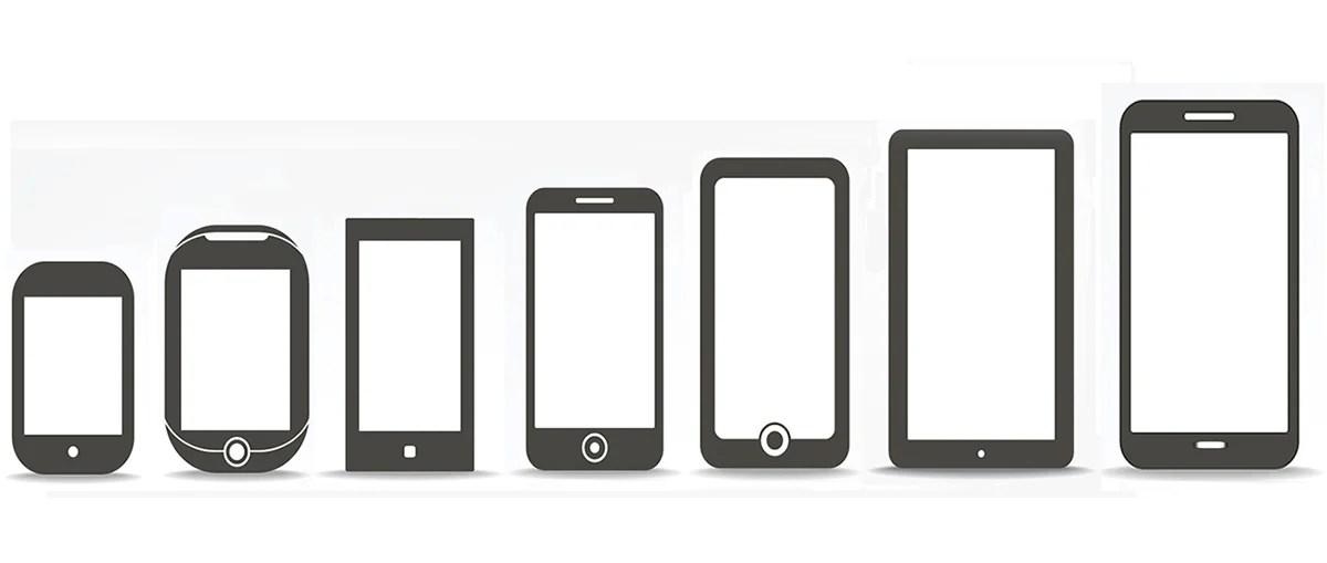 Cómo ha evolucionado el tamaño de los smartphones en los