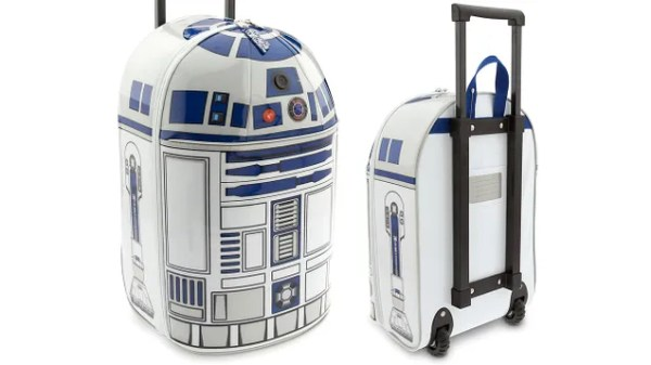 Finally an R2-D2 Suitcase That Actually Bleeps and Bloops