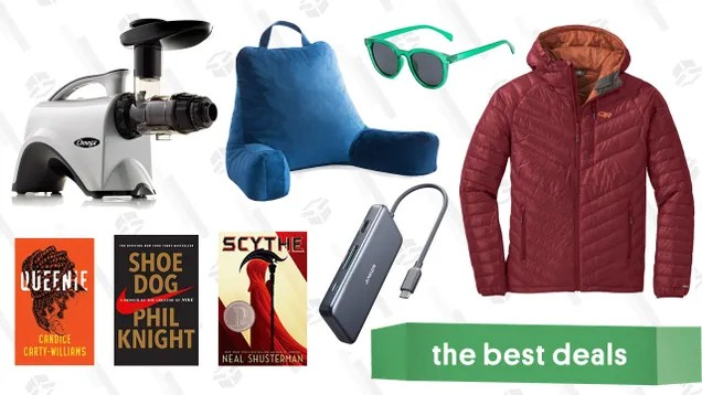kkhelejkattwjbbvql4h Sunday's Best Deals: REI Outlet, Weighted Blankets, Omega Juicer, and More | Gizmodo