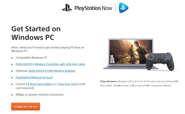 Playstation Now Is Available On Windows Pc