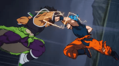 epische showdown tussen Goku & Broly in Dragon Ball Super-film Broly