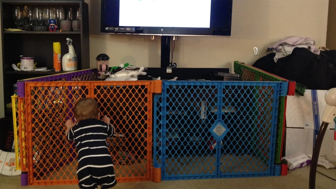 BabyProofing Tips for Gamers Turn the Gate Around
