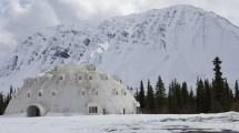 Abandoned Igloo Hotel In Alaska