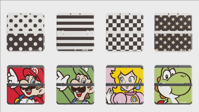 38 Lovely Faceplates for the New 3DS