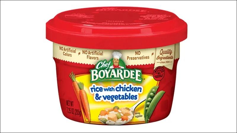 chef boyardee bowls recalled