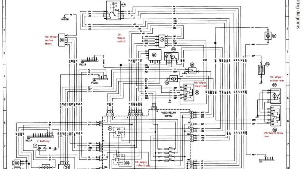 medium resolution of peugeot 406 wiper wiring diagram