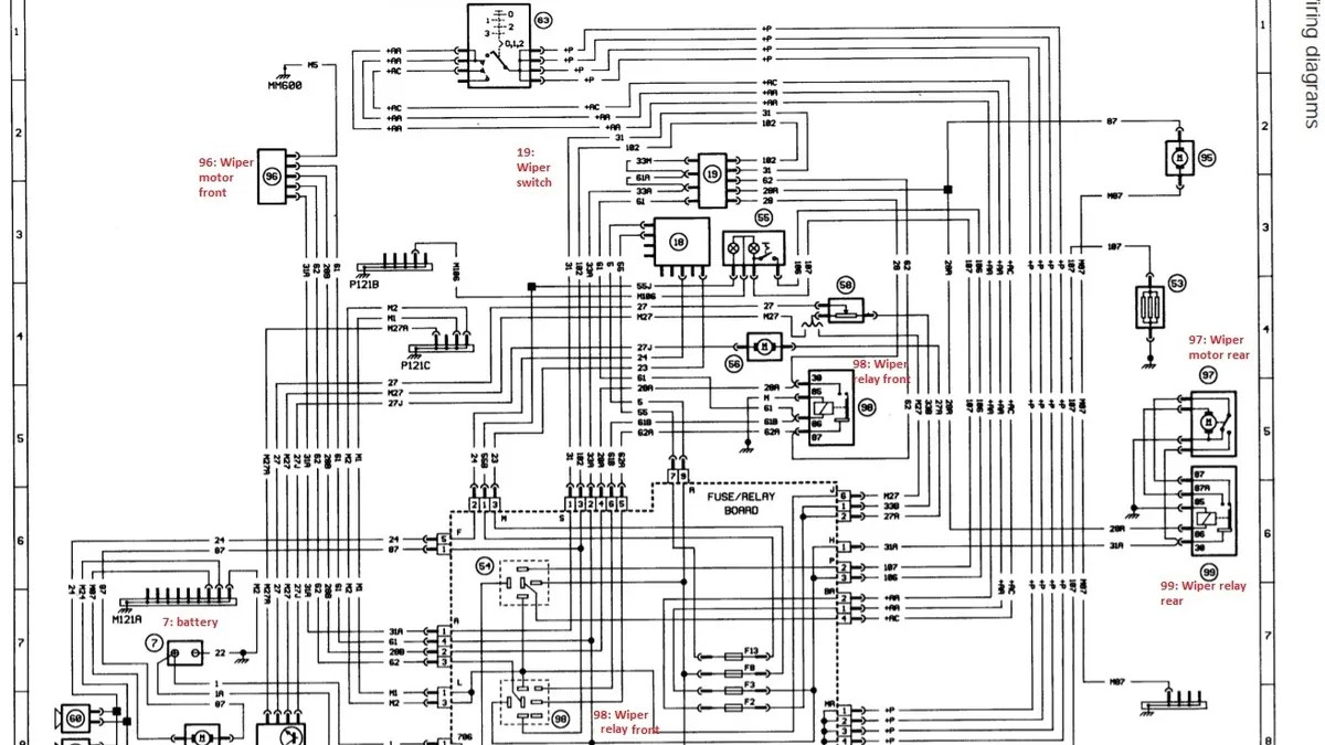 hight resolution of peugeot 406 wiper wiring diagram