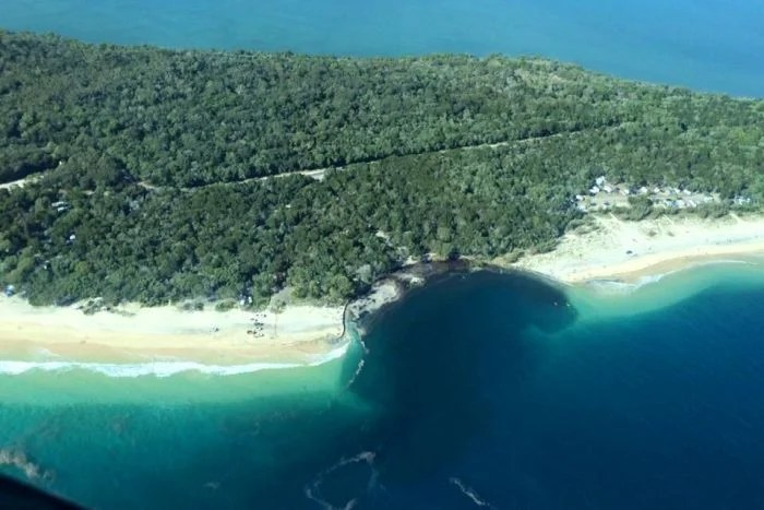 What Caused This Gaping Hole to Appear On an Australian Beach?