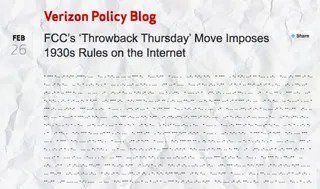 The Lamest Official Reactions Against Net Neutrality